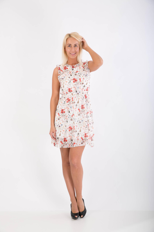 e653124232db Letné kvetinkové šaty